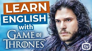Learn English With Game Of Thrones | Jon Snow, Daenerys and Cersei Meet
