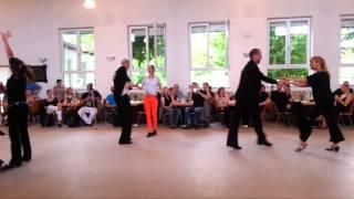 preview picture of video 'Discofox Spassturnier Landau 2013'