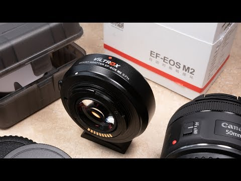 CANON FULL FRAME 4K MIRRORLESS?! - EF-M Speed Booster Review