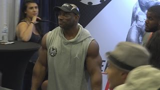 Dexter Jackson at the LA Fit Expo 2017