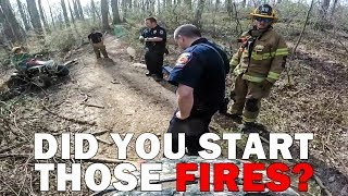 BIKERS ACCUSED FOR STARTING FIRES  | ANGRY & COOL  COPS | [Episode 101]