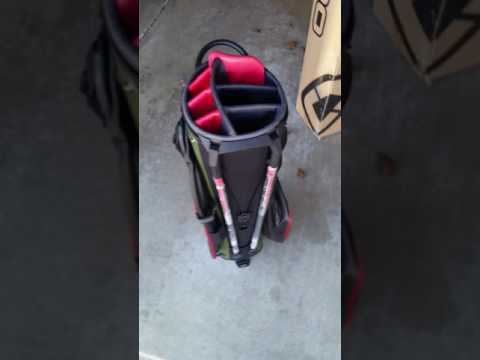 Unboxing Ogio Ozone golf stand bag