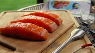 How To Grill Salmon Fillets