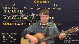 It's Good To Be King (Tom Petty) Guitar Cover Lesson with Chords/Lyrics - Munson