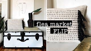 FLEA MARKET FLIP // DIY Home Decor On A BUDGET   XO, MaCenna