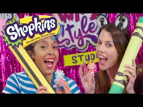 SHOPKINS   Wild Style Studio with SANDRA FROM SANDAROO KIDS!!!