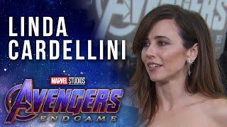 Linda Cardellini talks keeping secrets at the LIVE Marvel Studios' Avengers: Endgame Premiere