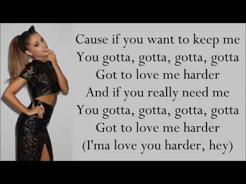 Ariana Grande ~ Love Me Harder ft. The Weeknd ~ Lyrics