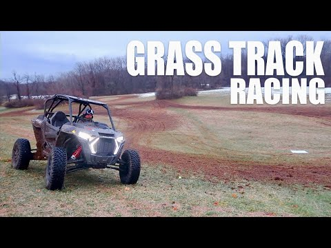 RZR TURBO S GRASS TRACK RACING WIDE OPEN