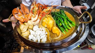 $293 Noodles!! THAI LOBSTER NOODLES in Bangkok, Thailand! | ราดหน้า 8,900 บาท!!