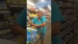 Racist lady at Wal-Mart