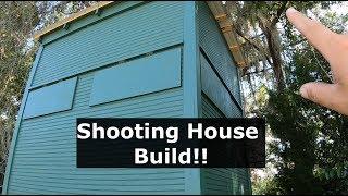 Ep #16 Deer Blind Build! 6x8 Shooting House