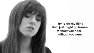 "Christina Grimmie Find Me  08 ""Counting"" lyric video"