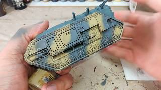 How I Paint Things - Simple Tank Camo