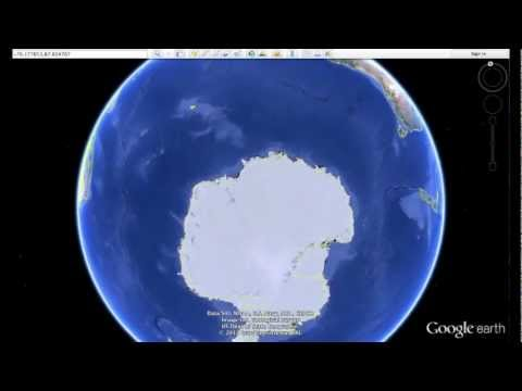 """14 mile long """"THING"""" buried in Antarctica? – how to find using Google Earth"""
