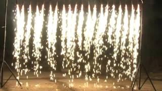 Водоспад з холодних фонтанів