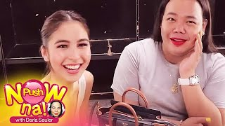 """Push Now Na: Julia Barretto proves that she's always ready with her """"orange pouch"""""""