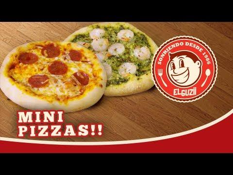 Mini Pizzas (Receta) - El Guzii