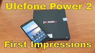 Ulefone Power 2 - First Impressions - A 6050 mAH Beast