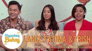 Fatima, Trish, and Lance receive a surprise message from their parents | Magandang Buhay