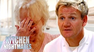 Zeke S Restaurant Kitchen Nightmares gordon ramsay redecorated this woman's restaurant and she hated it