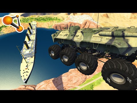 Car Skydiving Crashes (Dummy edition) Beamng Drive