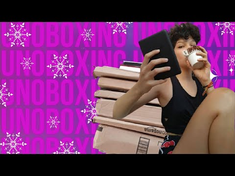 VLOGMAS  UNBOXING + BOOKHAUL BLACK FRIDAY, SURTO DO BEBÊ KINDLE | Especial de Natal EP. 3
