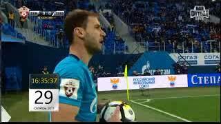 Зенит - Локомотив 2017 Полный матч