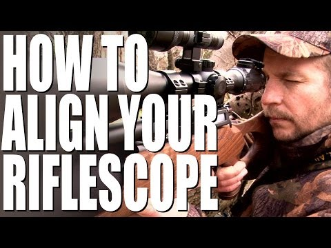 How to align your riflescope