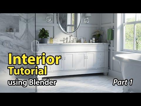 mp4 Interior Design In Blender, download Interior Design In Blender video klip Interior Design In Blender