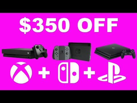 Best Black Friday Deals on Xbox One, PS4, and Nintendo Switch (видео)