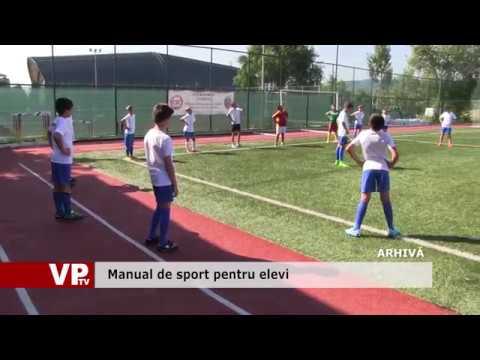 Manual de sport pentru elevi