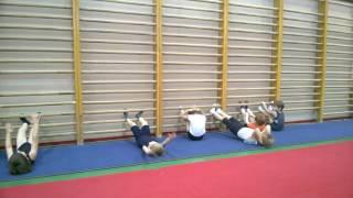 Спортивная гимнастика, Мостепанова О.В. открытый урок (лучший детский тренер Динамо Москва)