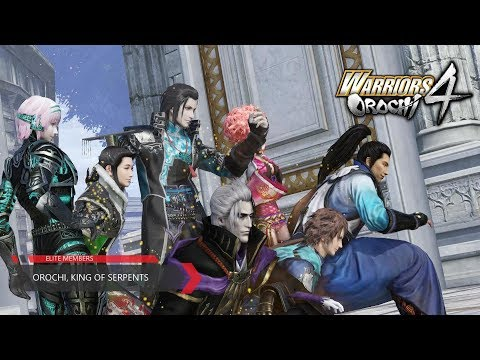 Warriors Orochi 4 - (5-12) - Orochi, King of Serpents (Chaotic Difficulty with All Objectives)