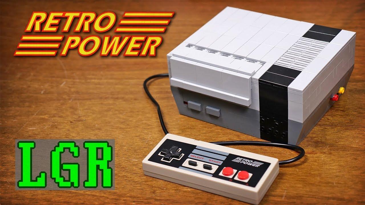 LGR - Building a Lego NES Console (with a Raspberry Pi)