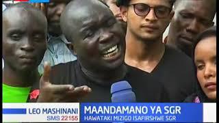 Maandamano ya SGR yazuka huko Mombasa, hawataki mizigo isafirishwe na SGR