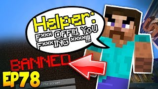 GIVING HACKER STAFF RANK!!! Minecraft Hacker Trolling EP78