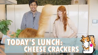 Today's Lunch: Cheese Crackers