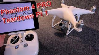 DJI Phantom 4 Pro Teardown - full body replacement
