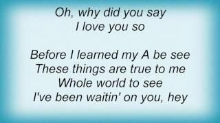 Al Green - I've Been Waitin' On You Lyrics