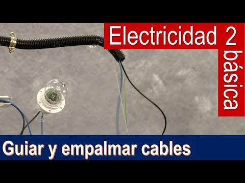 Electricidad básica 2: guiar cables y empalmarlos (Bricocrack)