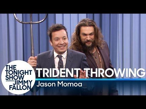 Trident Throwing with Jason Momoa (видео)