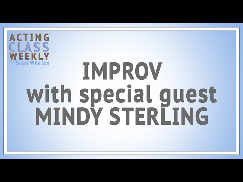 Acting Class Weekly: Mindy Sterling Talks Improv | AfterBuzz TV