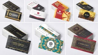 Vetores para Corel Draw 1400 Cartões Visita Frente e Verso + Bônus + Vídeo Aulas