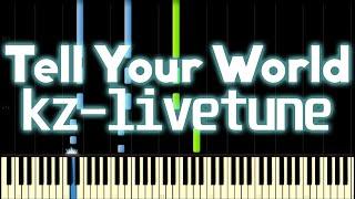 [Project DIVA Full] Tell Your World English version - Hatsune Miku V4x [English subs]