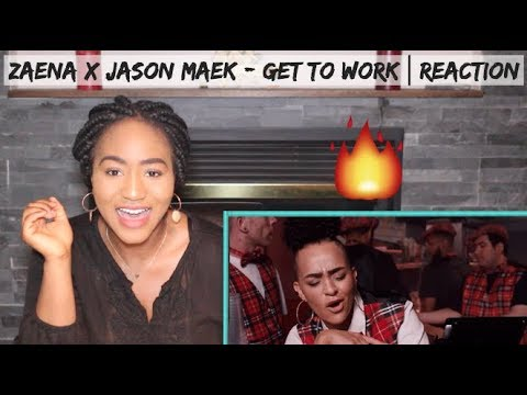 Zaena x Jason Maek - Get To Work (Official Music Video) | REACTION