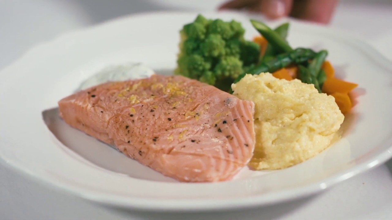 Video - Perfect Salmon Fillet Using the Sous Vide Method
