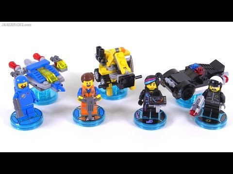 LEGO Dimensions toys: LEGO Movie fun packs reviewed!