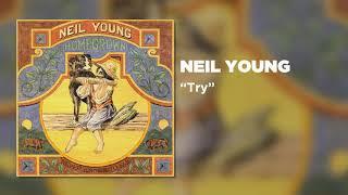 Kadr z teledysku Try tekst piosenki Neil Young