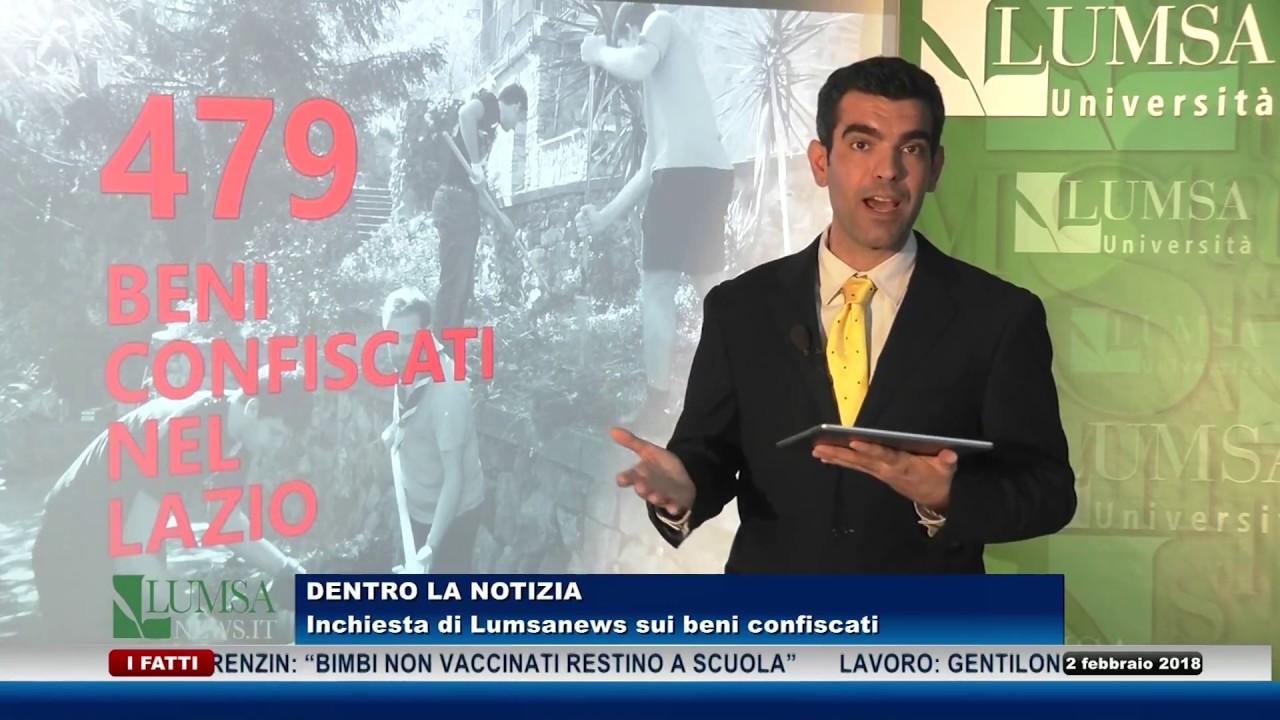 Dentro la notizia: i beni confiscati alla criminalità organizzata nel Lazio